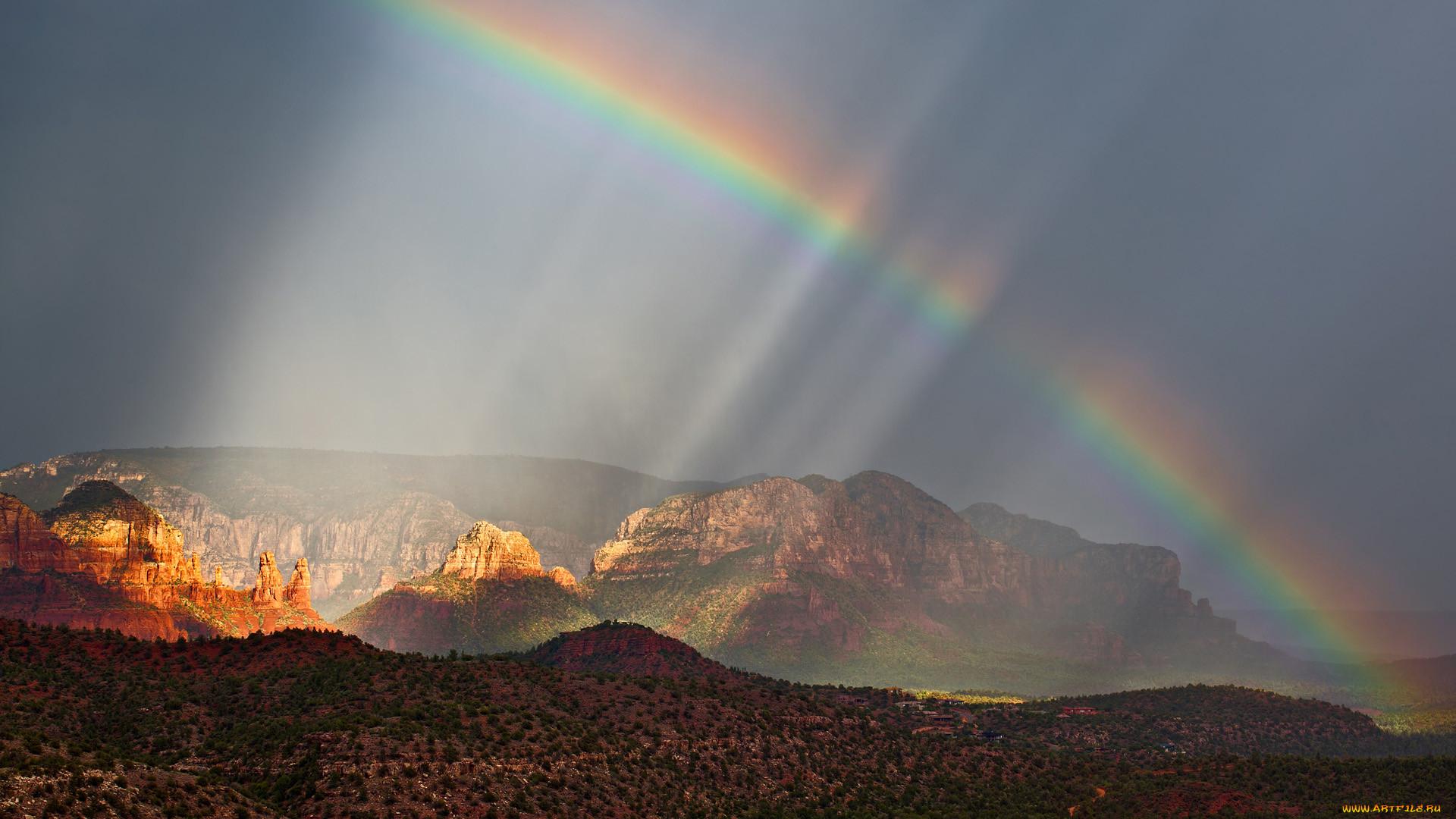 Природная радуга картинки